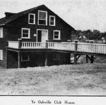 Image of Oakville Club Building - The Oakville Club Building which was formerly Grangers Warehouse in 1878 when it was built on The Sixteen at the end of William Street and was changed to John Wales Flour and Feed in 1894.