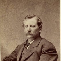 Image of George Chisholm Thomas b. Jan 28 1834 - George Chisholm Thomas was the grandson of Merrick Thomas and the father of Georgianna Thomas (Ives).