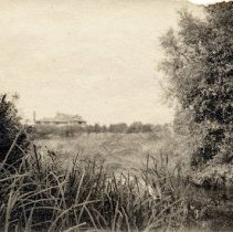 Image of Gairdner Estate (Edgemere) circa 1920 - Gairdner Estate from a distance.