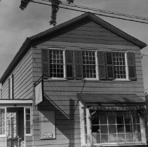Image of 83 Trafalgar Road - Built and lived in by Robert Leach, carpenter. It was initially built on south-east the corner of Dundas Street (now Trafalgar Road) and Colborne Street (now Colborne Street) but has since been moved twice.