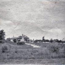 Image of Gairdner Estate (Edgemere) circa 1920 - Gairdner Estate, grounds and house view