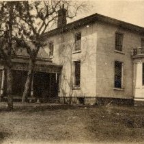Image of McCraney house - 549 Lakeshore Rd., W. Passed down from Hiram McCraney to his son, William, who worked as a highly successful lumber dealer around the Halton region in the years following the Great War.