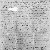 Image of Gordon Monro Letters, Sept 24 1914