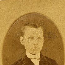Image of George Alexander Cornwall - At the age of 9. This photo was sent to his uncle who lived in Ireland.