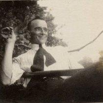 "Image of C. F. Teskey - Husband to Louise ""Blossom"" Teskey (nee Appelbe), and father of Gerda Teskey and Margaret Teskey."