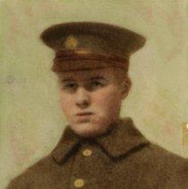 Image of Unidentified Man in Uniform - World War I.