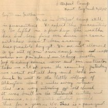Image of Munro letter
