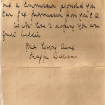 Image of Munro Letters: Dec. 11 1917: Maggie Williams to Melville Munro