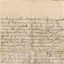 Image of Munro Letters: Jan. 4 1917: G.B. Chisholm to Melville Munro