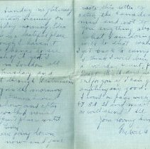 Image of Munro Letters: May 13 1917: Melville Munro to Jessie Munro