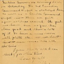 Image of Munro Letters: 1917 July 18: Melville Munro to Jessie Munro