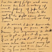 Image of Munro Letters: 1917 July 22: Melville Munro to Jessie Munro.