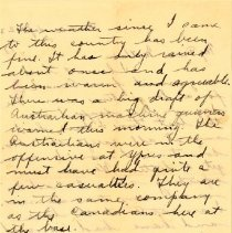 Image of Munro Letters: 1917 Sept 23: Arthur Melville Munro to Jessie Munro