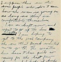Image of Munro Letters: 1917 Oct 19: Arthur Melville Munro to Jessie Munro