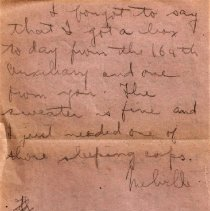 Image of Munro Letters: Dec 9, 1917: Melville Munro to Jessie Munro.