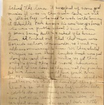Image of Gordon Munro Letters, Jan. 8, 1916
