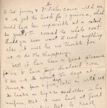 Image of Gordon Munro Letters, Jan. 17, 1916