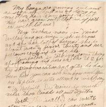 Image of Gordon Munro Letters, Jan. 20, 1916