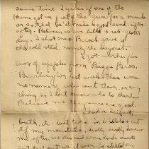 Image of Gordon Munro Letters, Jan. 27, 1916