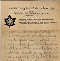 Image of Gordon Munro Letters, Mar. 6, 1916