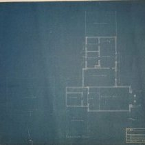Image of Blueprints of the Baillie Estate- Basement