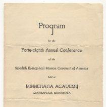 Image of 0652 - Program