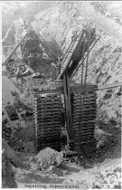 Image of repairing steam shovel