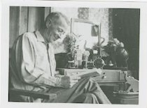 Image of Man seated