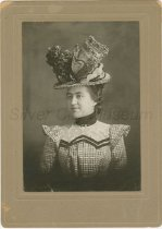 Image of Mary Ott in hat