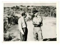 Image of Lavine Collection of Eichmann Materials - American Columnist Visits Eichmann's Jail