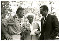 Image of Three Men Converse