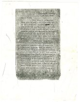 Image of Letter of US Soldier