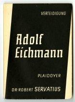 Image of Verteidigung Adolf Eichmann