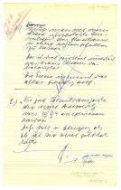 Image of Lavine Collection of Eichmann Materials - Eichmann Trial Notes