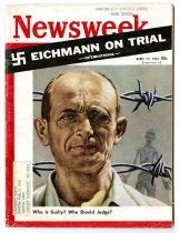 """Image of Lavine Collection of Eichmann Materials - Newsweek: """"Eichmann on Trial"""""""
