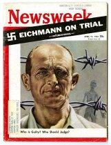 """Image of Newsweek: """"Eichmann on Trial"""""""