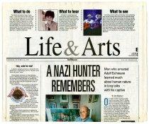 Image of A Nazi Hunter Remembers