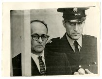 Image of Eichmann Listens to the Charges