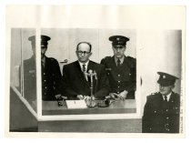 Image of Eichmann in the Dock