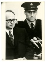 Image of Eichmann at Opening of his Trial