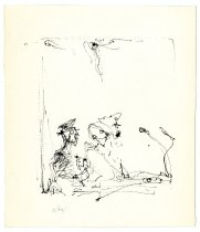 Image of Eichel Collection of Courtroom Drawings - Eichmann in Glass Booth