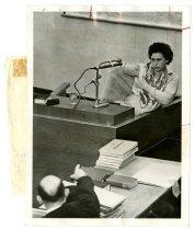 Image of Eichmann Trial - Leana Neumann Testifies