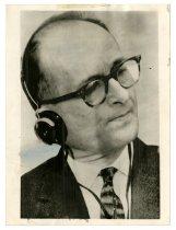 Image of Lavine Collection of Eichmann Materials - Adolf Eichmann Portrait