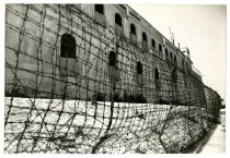 Image of Lavine Collection of Eichmann Materials - Building With A Barbed-Wire Fence
