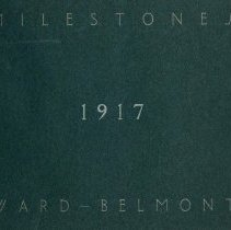 Image of 1917 Milestones Cover