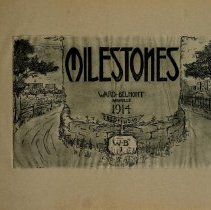 Image of 1914 Milestones Cover