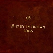 Image of 1908 Milady in Brown Cover