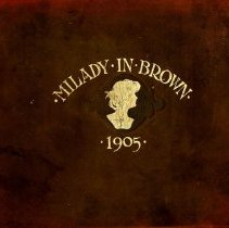 Image of 1905 Milady in Brown Cover