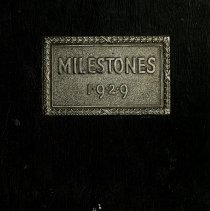 Image of 1929 Milestones