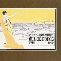 Image of 1919 Milestones Cover